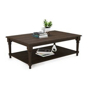 Louise Coffee Table (Brown, Vintage Brown Oak Finish)