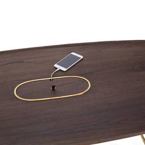 Mej Coffee Table (Teak Finish) by Urban Ladder