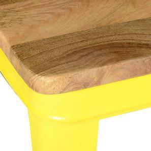 Soren High Table (Yellow) by Urban Ladder