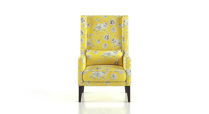 Morgen Wing Chair & Ottoman (Sunkissed Blooms) by Urban Ladder