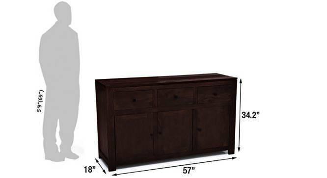 Striado sideboard mahogany 8