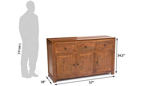 Striado sideboard teak 8