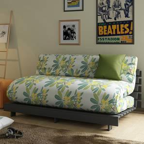 Finn Double Futon Sofa Cum Bed (Frangipani Summer Blooms)