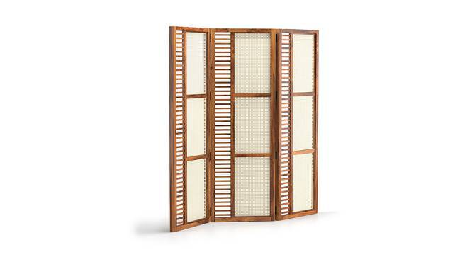 Fujiwara Room Divider (Teak Finish) by Urban Ladder