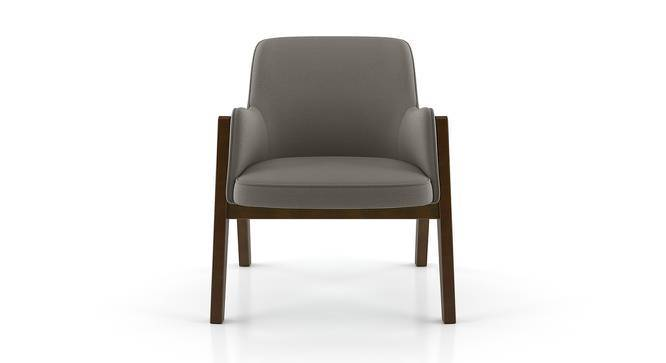 Carven Lounge Chair (Dark Grey) by Urban Ladder