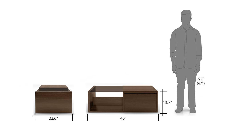 Alita storage coffee table half 9