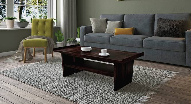 Pendulo Coffee Table (Mahogany Finish) by Urban Ladder