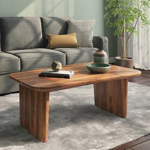 Cortado Coffee Table (Teak Finish) by Urban Ladder