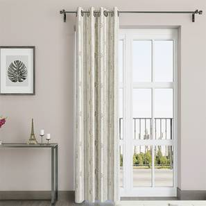 Talisa Curtain - Set Of 2 (Talisa - Warm Timber) by Urban Ladder