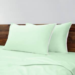 Serena Bedsheet Set (King Size, Mint)