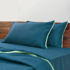 Serena Bedsheet Set (Blue, King Size)
