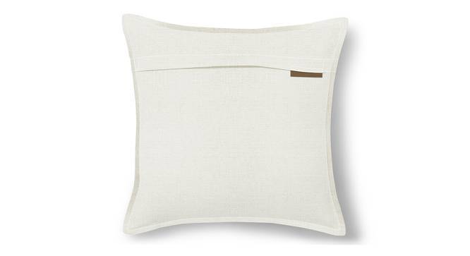 "Tito Cushion Cover - Set Of 2 (White, 16"" X 16"" Cushion Size) by Urban Ladder"