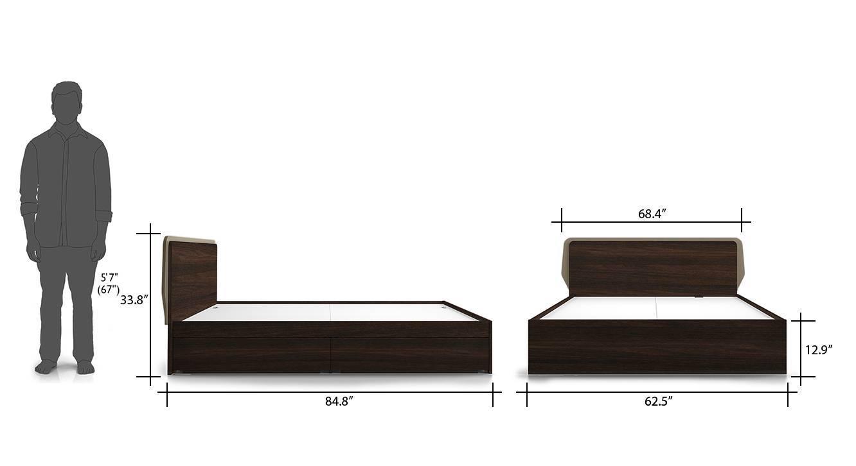 Cavinti storage bed drawerbox 8