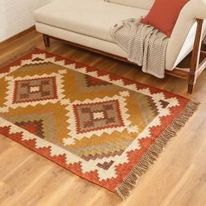 "Diamant Dhurrie (36"" x 60"" Carpet Size) by Urban Ladder"
