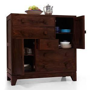 Magellan chest of drawer mahogany lp