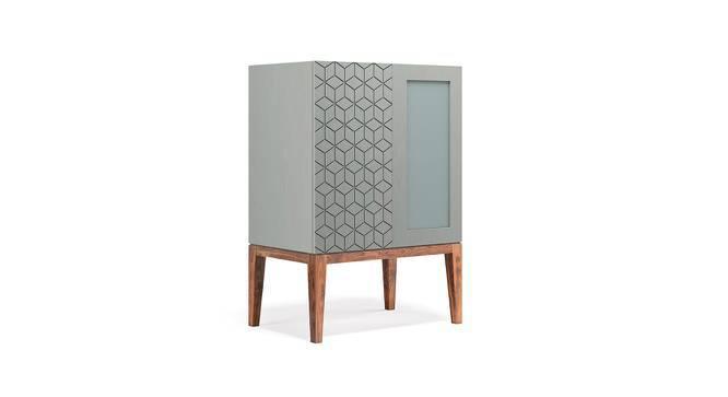 Adel Bar Cabinet (Teak Finish) by Urban Ladder