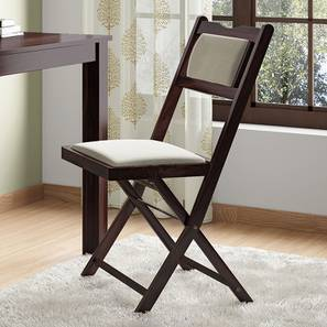 Axis Folding Chair (Mahogany Finish)