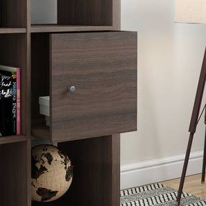 Boeberg Cabinet Inserts (Dark Walnut Finish) by Urban Ladder