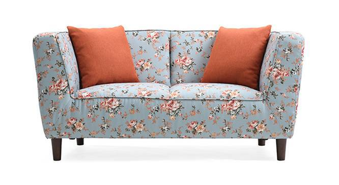 Janet Loveseat (Vintage Floral Teal, Yes) by Urban Ladder