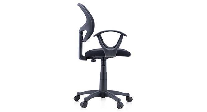 Eisner Study Chair (Black, Yes) by Urban Ladder