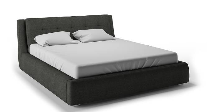 Stanhope Hydraulic Upholstered Storage Bed (King Bed Size, Charcoal Grey, Yes) by Urban Ladder