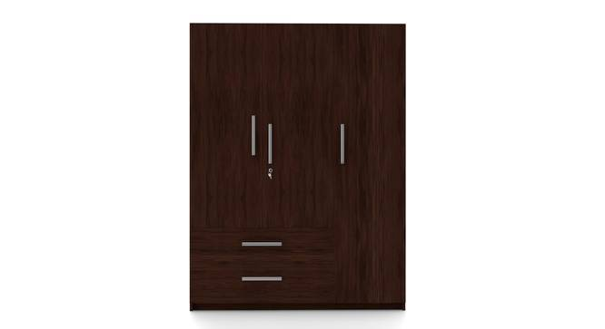 Domenico Wardrobe (Three Door, No Mirror, With Drawer Configuration, Yes) by Urban Ladder