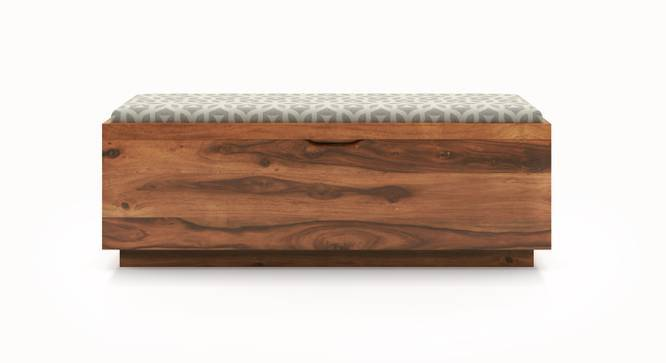 Zephyr Blanket Box (Teak Finish, Yes) by Urban Ladder