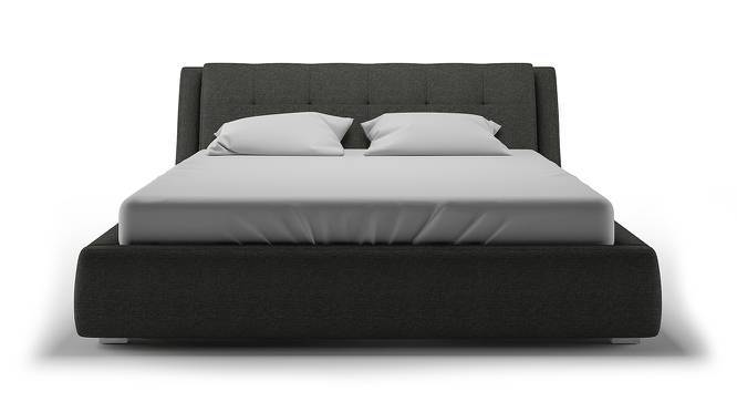 Stanhope Hydraulic Upholstered Storage Bed (Queen Bed Size, Charcoal Grey, Yes) by Urban Ladder