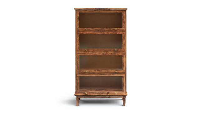 Malabar Barrister Bookshelf (Teak Finish, Yes) by Urban Ladder