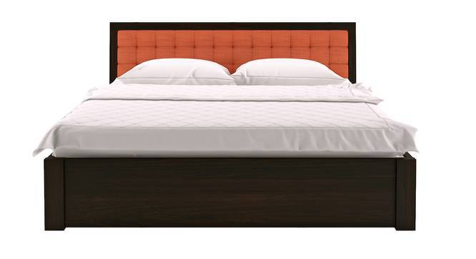 Florence Storage Bed (Mahogany Finish, King Bed Size, Lava, Yes) by Urban Ladder