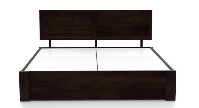 Terence Storage Bed (Mahogany Finish, King Bed Size, Yes) by Urban Ladder