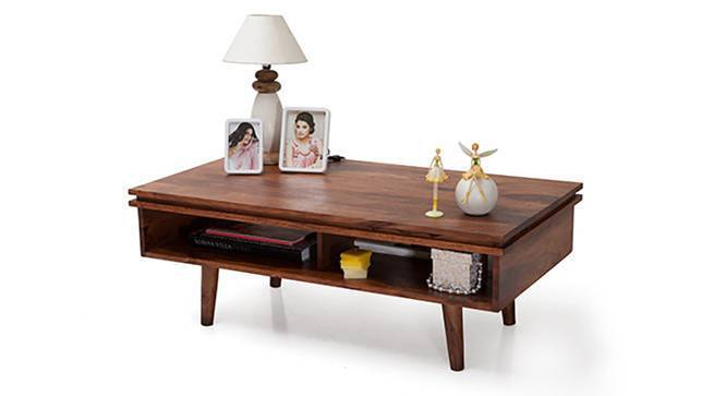 Parker Coffee Table (Teak Finish, Yes) by Urban Ladder