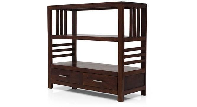 Carnegie Bookshelf/Display Unit (Walnut Finish, Yes) by Urban Ladder