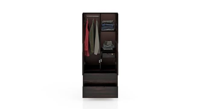 Zephyr Wardrobe (Mahogany Finish, Yes) by Urban Ladder