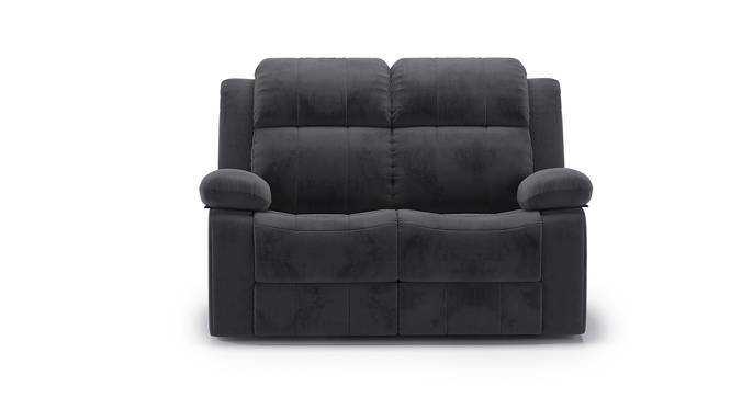 Robert Two Seater Recliner Sofa (Grey Fabric, Yes) by Urban Ladder