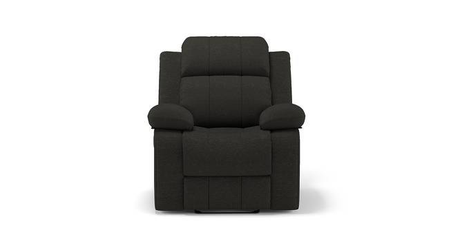 Robert Recliner (Dark Grey Fabric, Yes) by Urban Ladder