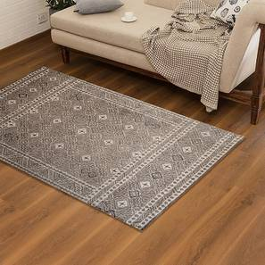 "Grisa Hand Tufted Carpet (48"" x 72"" Carpet Size) by Urban Ladder"