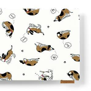 Snoozy Pet Table Runner (Amaltas Indigo Pattern) by Urban Ladder