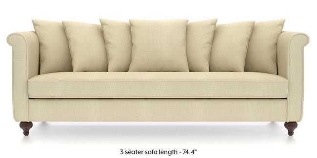 Marlene Sofa (Ivory White) (Ivory, Fabric Sofa Material, Regular Sofa Size, Regular Sofa Type)