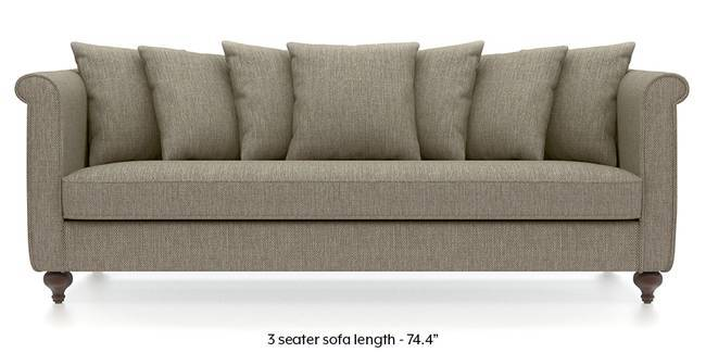 Marlene Sofa (Mist Brown) (Mist, Fabric Sofa Material, Regular Sofa Size, Regular Sofa Type)