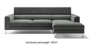 Chelsea Adjustable Sectional Sofa (Grey)
