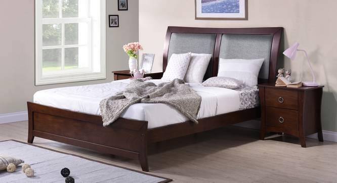 Packard Bed (Queen Bed Size, Dark Walnut Finish) by Urban Ladder