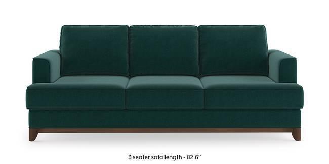 Halden Sofa (Malibu Blue) (1-seater Custom Set - Sofas, None Standard Set - Sofas, Fabric Sofa Material, Regular Sofa Size, Malibu, Regular Sofa Type)