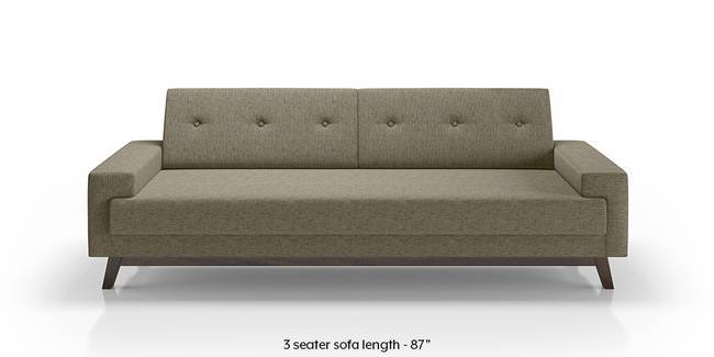 Venetti Sofa (Mist Brown) (Mist, Fabric Sofa Material, Regular Sofa Size, Regular Sofa Type)