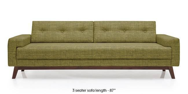 Venetti Sofa (Olive Green) (Olive, Fabric Sofa Material, Regular Sofa Size, Regular Sofa Type)