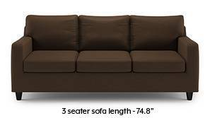 Walton Compact Sofa (Desert Brown)