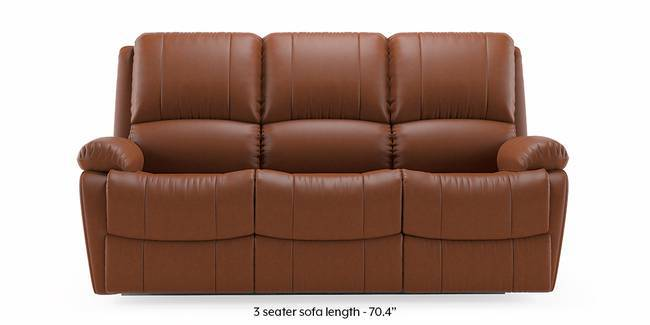 Review Tribbiani Recliner Sofa Set Tan Leatherette 3 seater Custom Set Sofas Model - Awesome 3 seat reclining sofa Modern