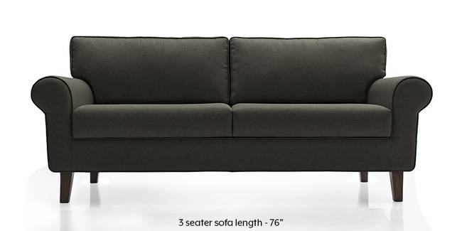 Oxford Sofa (Steel Grey) (Steel, Fabric Sofa Material, Regular Sofa Size, Regular Sofa Type)