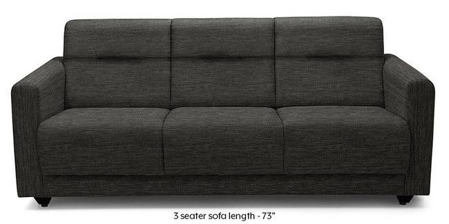Lloyd Sofa (Cosmic Grey) (Cosmic, Fabric Sofa Material, Compact Sofa Size, Regular Sofa Type)