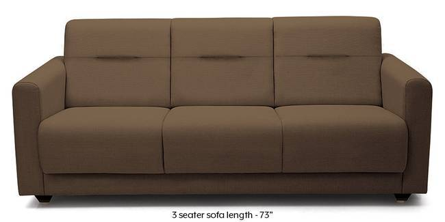 Lloyd Sofa (Mocha Brown) (Mocha, Fabric Sofa Material, Compact Sofa Size, Regular Sofa Type)